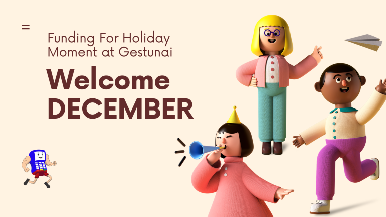 welcome December - Gestunai
