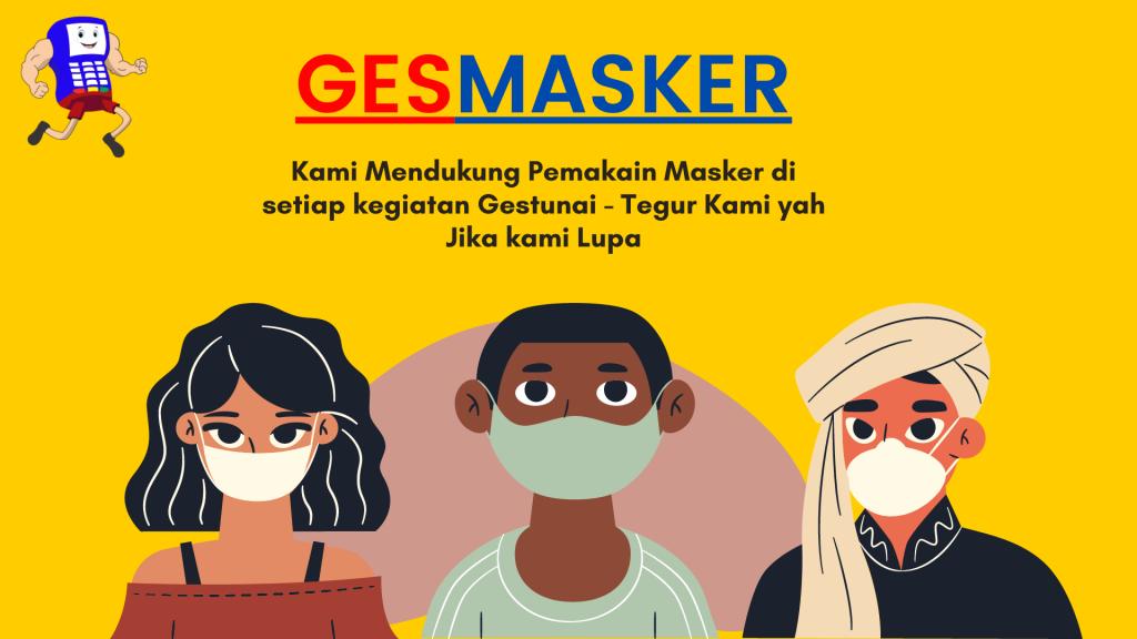 Gestunai Gesmasker